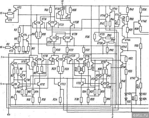 Электрическве рараметры